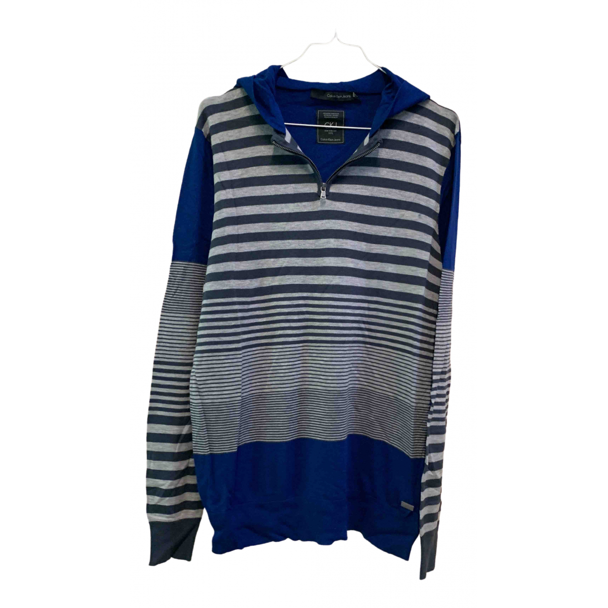 Calvin Klein \N Blue Cotton Knitwear for Kids 20 years - XL UK