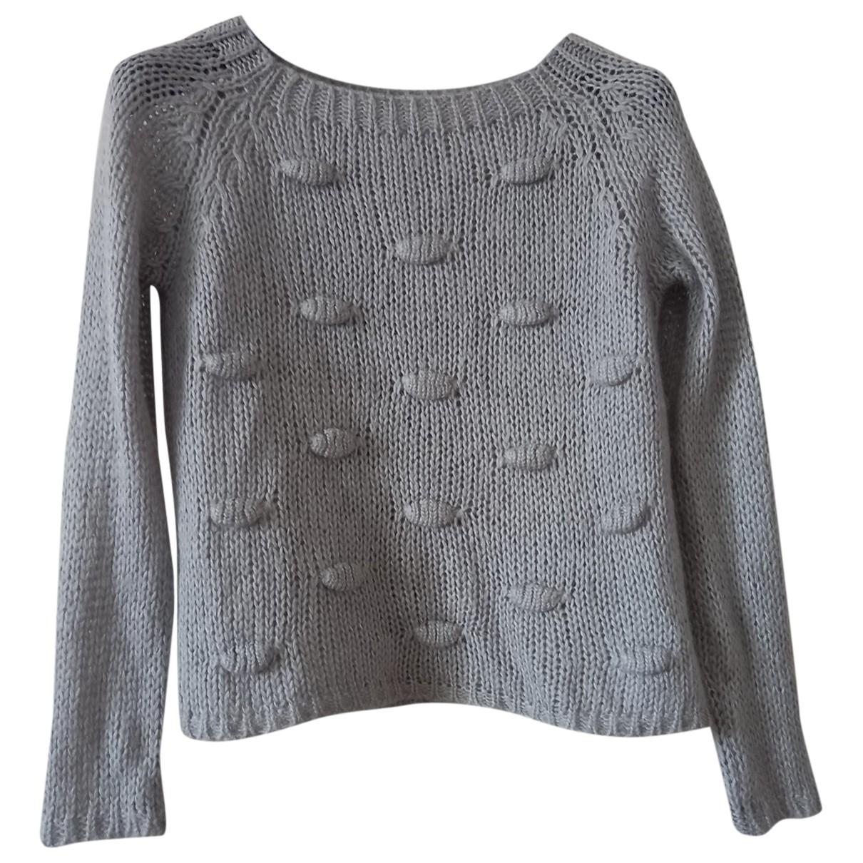 Autre Marque - Pull   pour femme en laine - gris