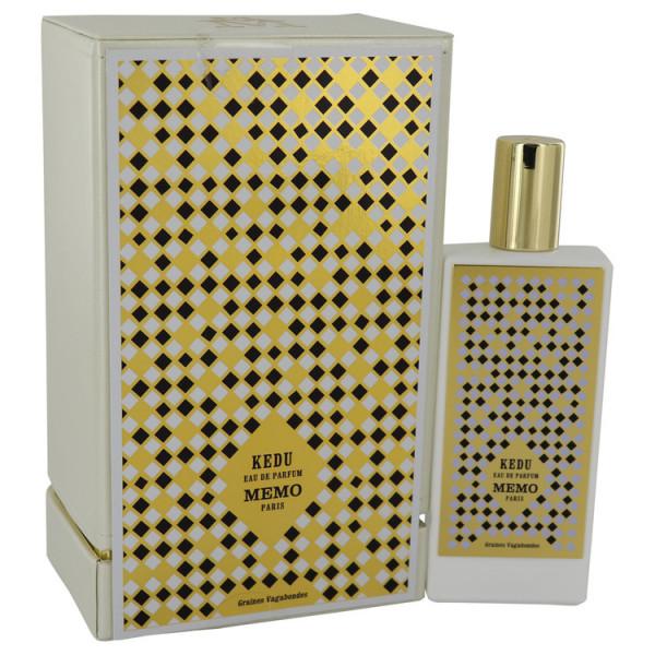 Memo Paris - Kedu : Eau de Parfum Spray 2.5 Oz / 75 ml
