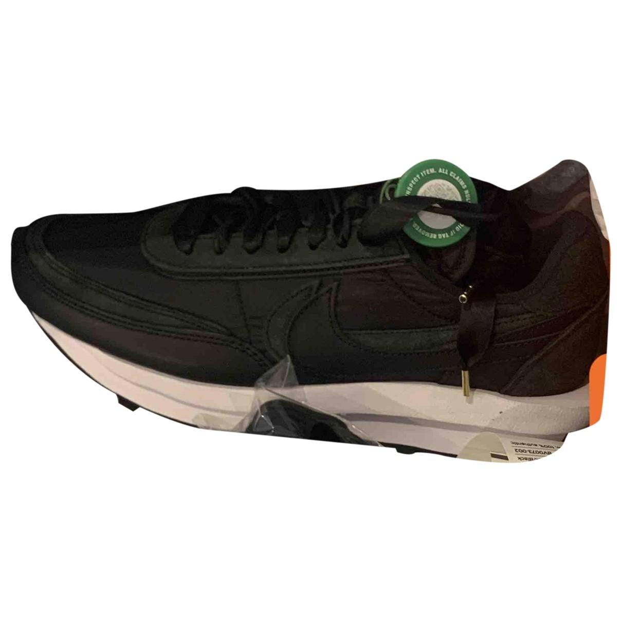 Nike X Sacai - Baskets LDV Waffle pour homme en toile - noir