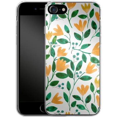 Apple iPhone 8 Silikon Handyhuelle - Fresh Foliage von Iisa Monttinen
