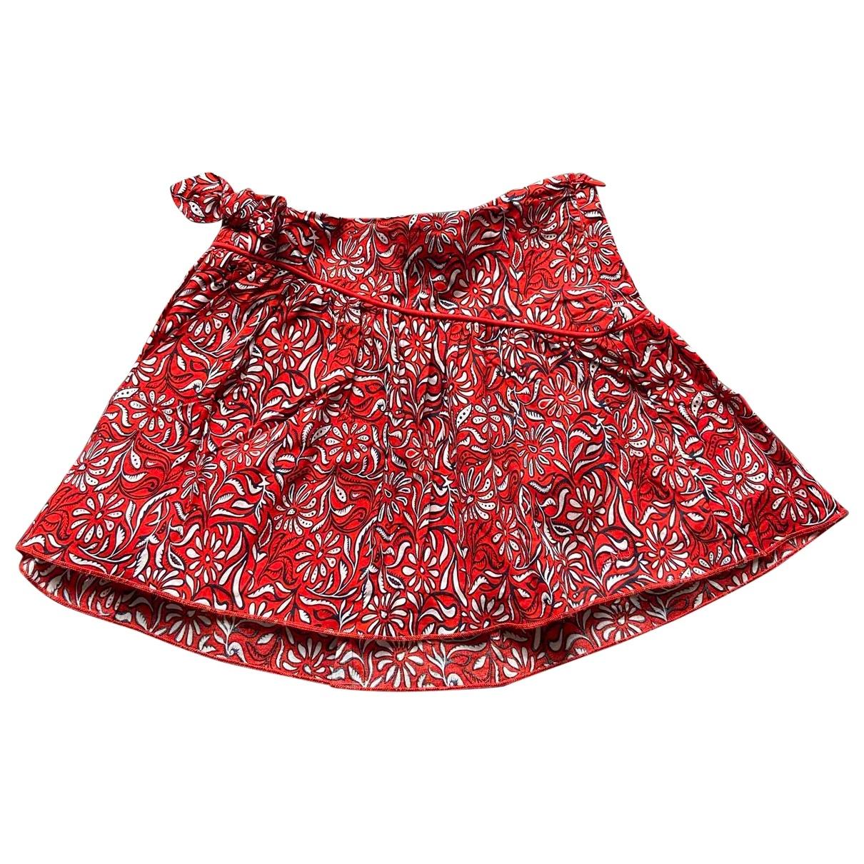 Little Marc Jacobs - Jupe   pour enfant en coton - rouge