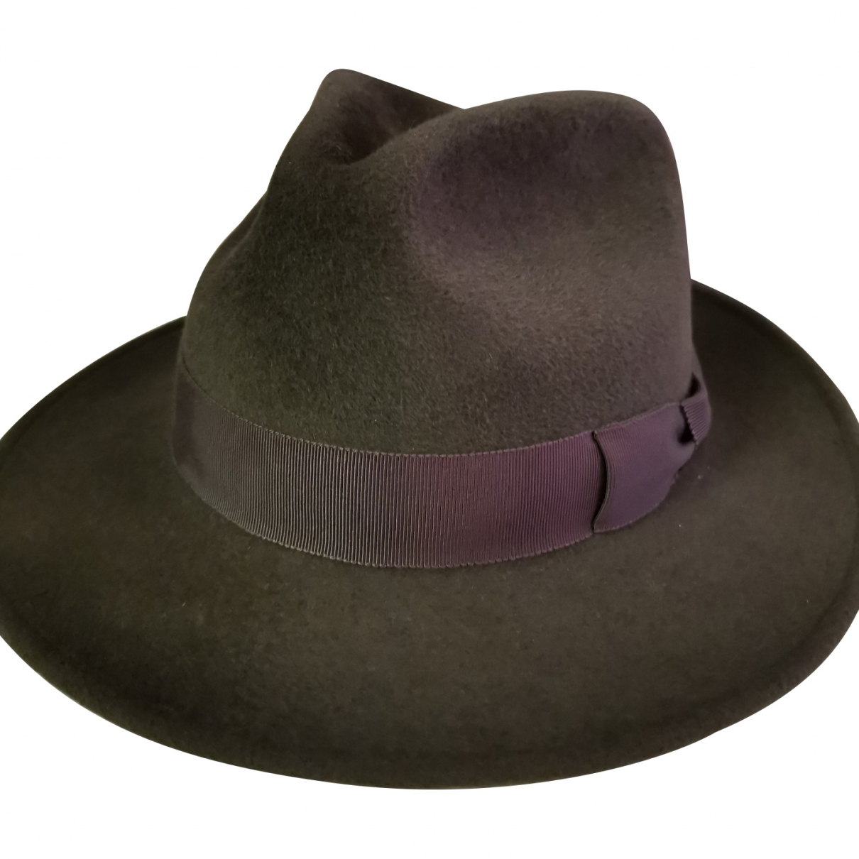 Non Signé / Unsigned \N Grey Rabbit hat & pull on hat for Men 57 cm