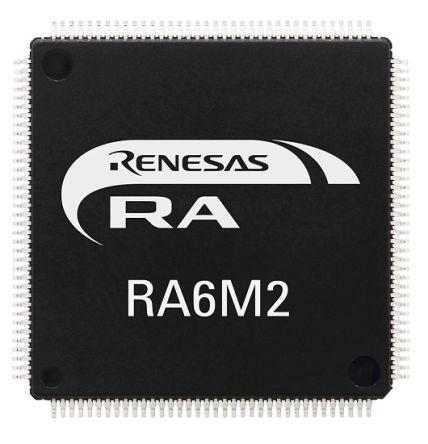 Renesas Electronics R7FA6M2AD3CFP#AA0 ARM Cortex M4F Microcontroller (90)