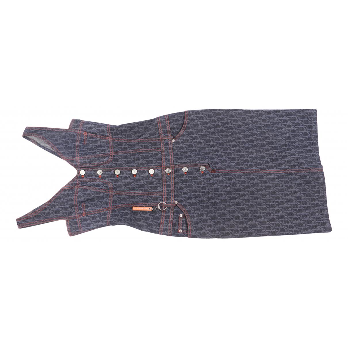 Dior \N Kleid in  Blau Baumwolle