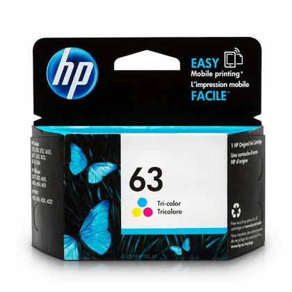 HP 63 F6U61AN Original Tri-Color Ink Cartridge