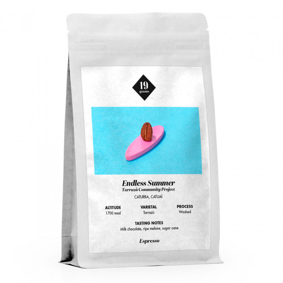 "Kaffeebohnen 19 grams ""Endless Summer Espresso"", 250 g"