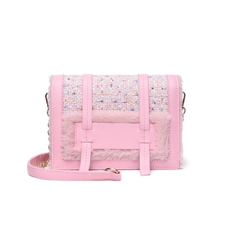 Ericdress Plaid Chain Japanese Rectangle Crossbody Bags