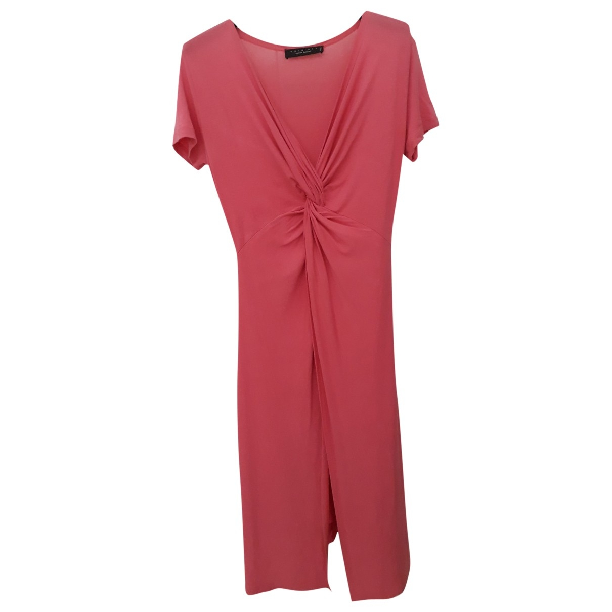 Twin Set \N Kleid in  Rosa Viskose