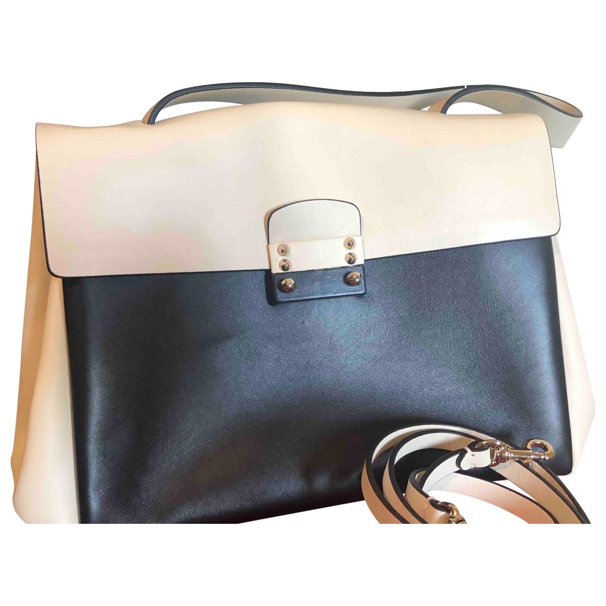 Valentino Garavani \N Ecru Leather handbag for Women \N