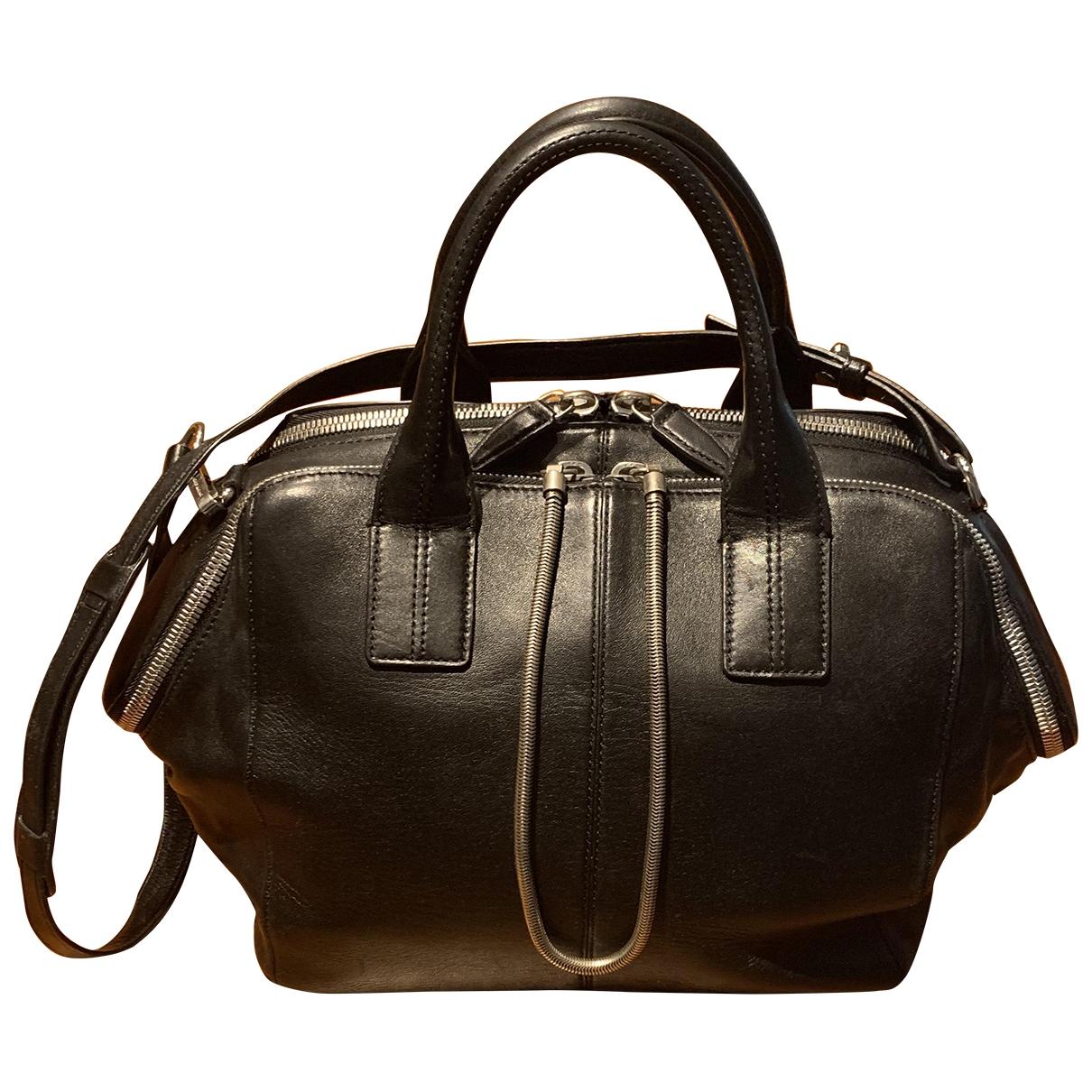 Alexander Wang \N Black Leather handbag for Women \N