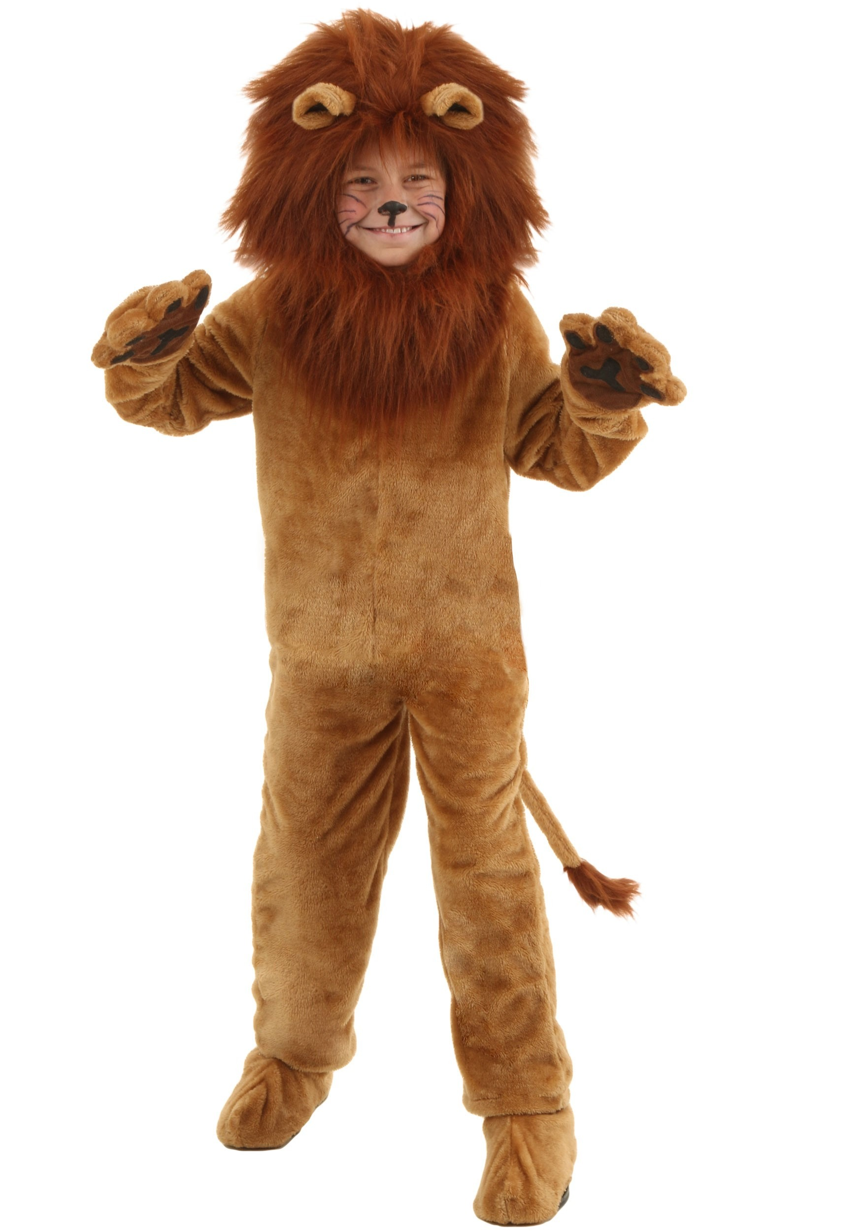 Deluxe Lion Costume for Kids | Safari Kids Costume | Exclusive