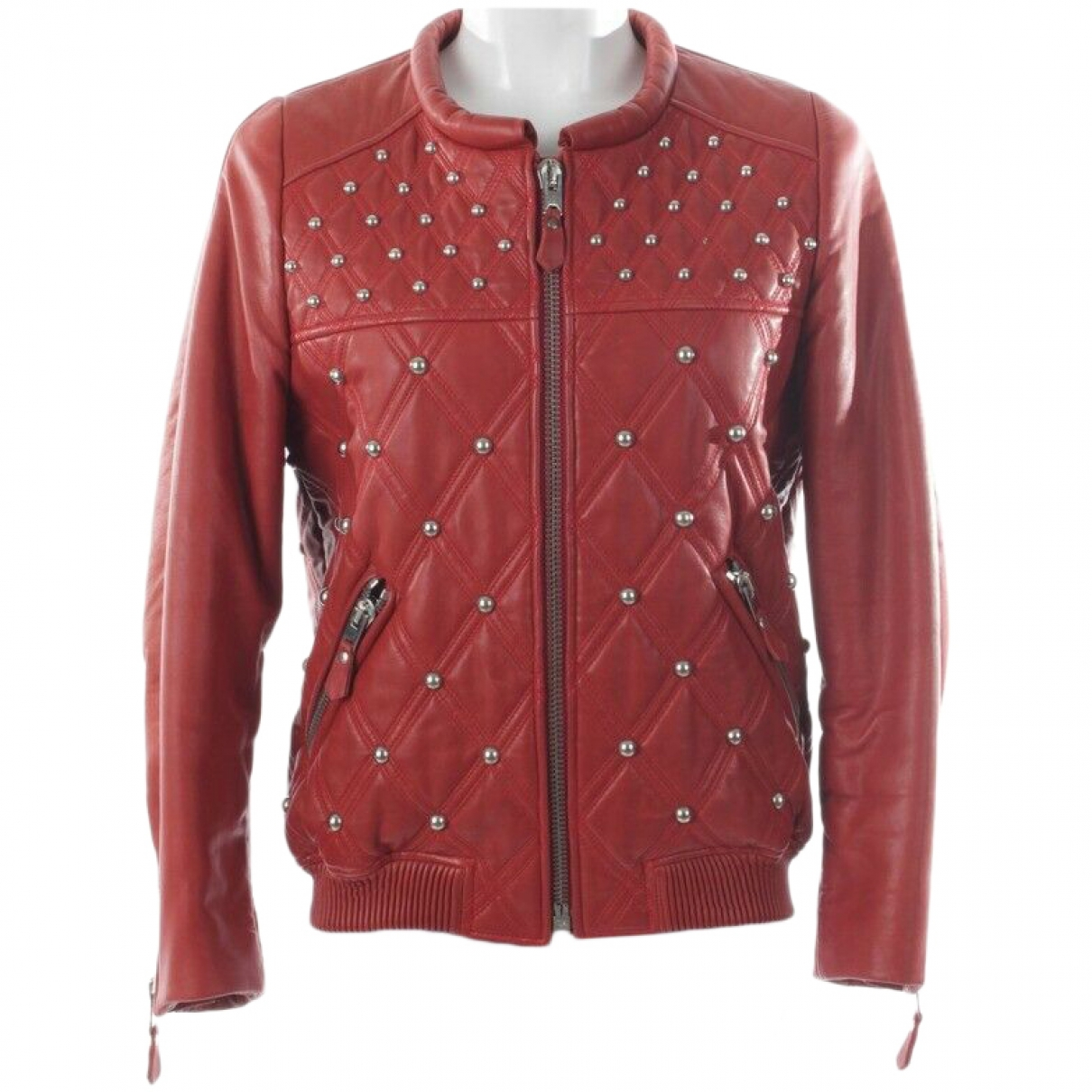 Isabel Marant \N Red Leather jacket for Women 38 FR