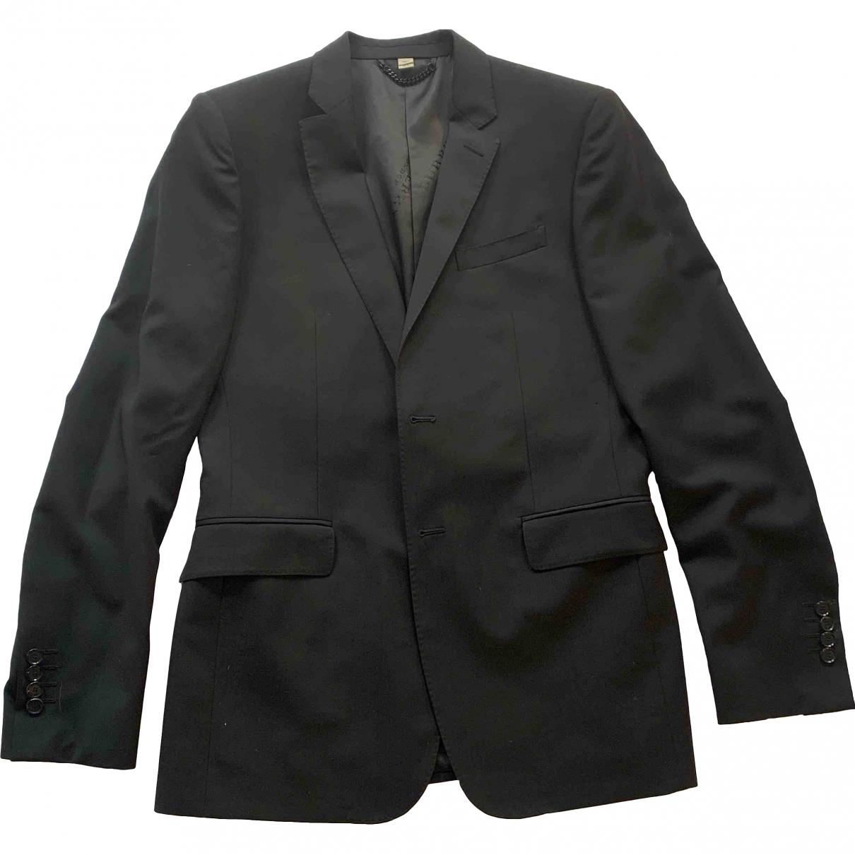 Burberry - Costumes   pour homme en laine - noir