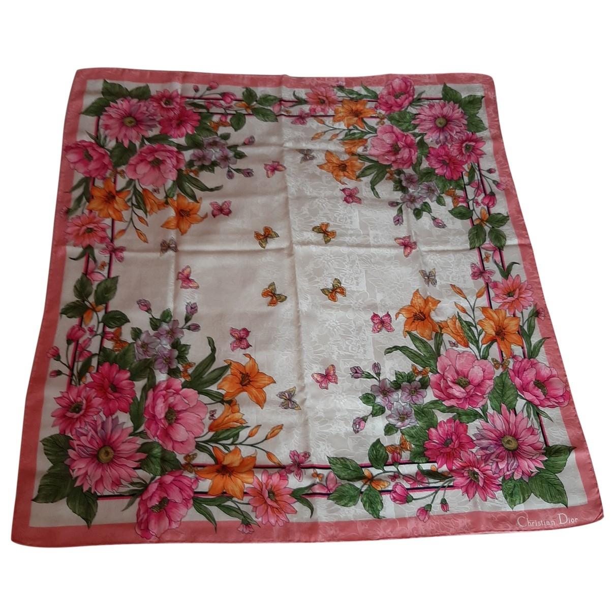 Dior - Foulard   pour femme en soie - rose