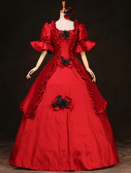 Milanoo Disfraz Halloween Disfraz de trajes retro elegantes  Halloween
