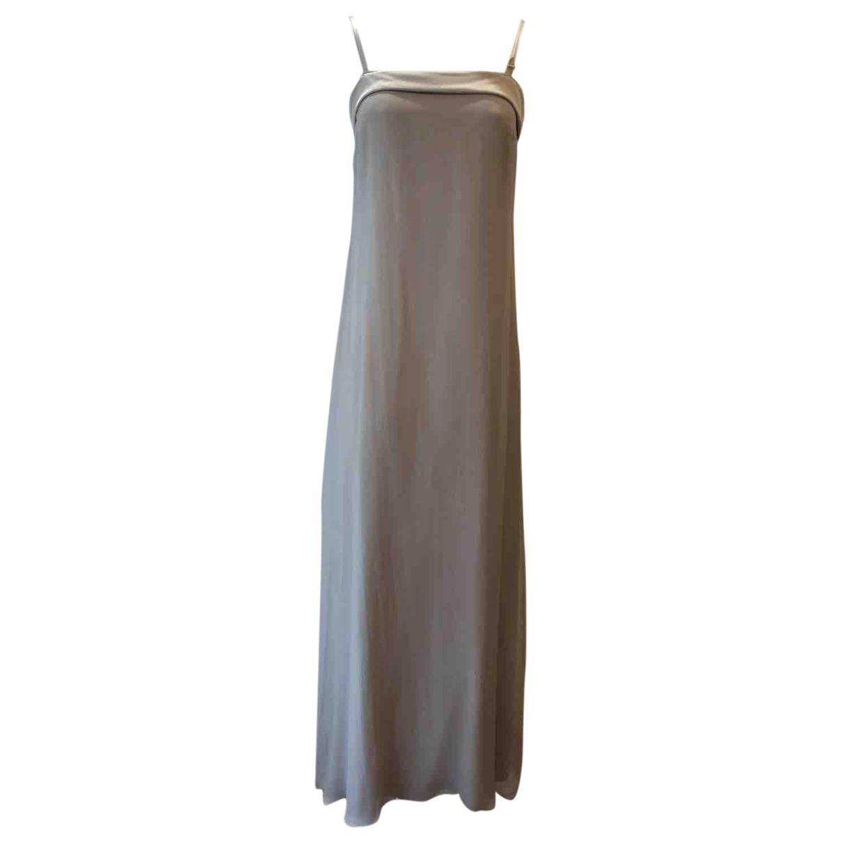 Brunello Cucinelli - Robe   pour femme en soie - beige