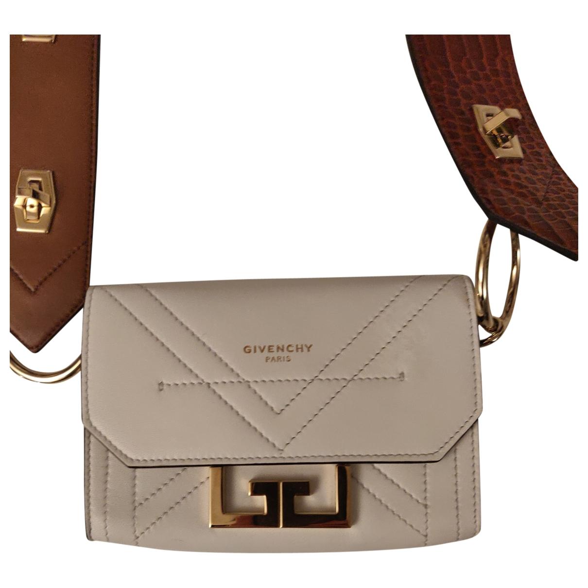 Givenchy - Sac a main GV3 pour femme en cuir - blanc