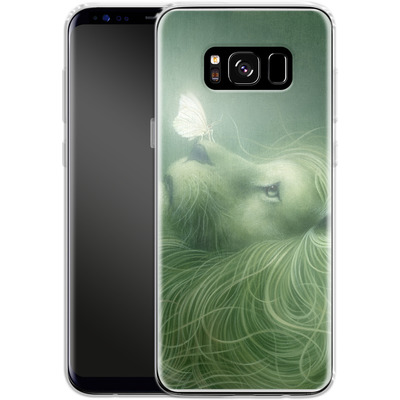 Samsung Galaxy S8 Silikon Handyhuelle - In the Calm of the Pale Moonlight von Dan May
