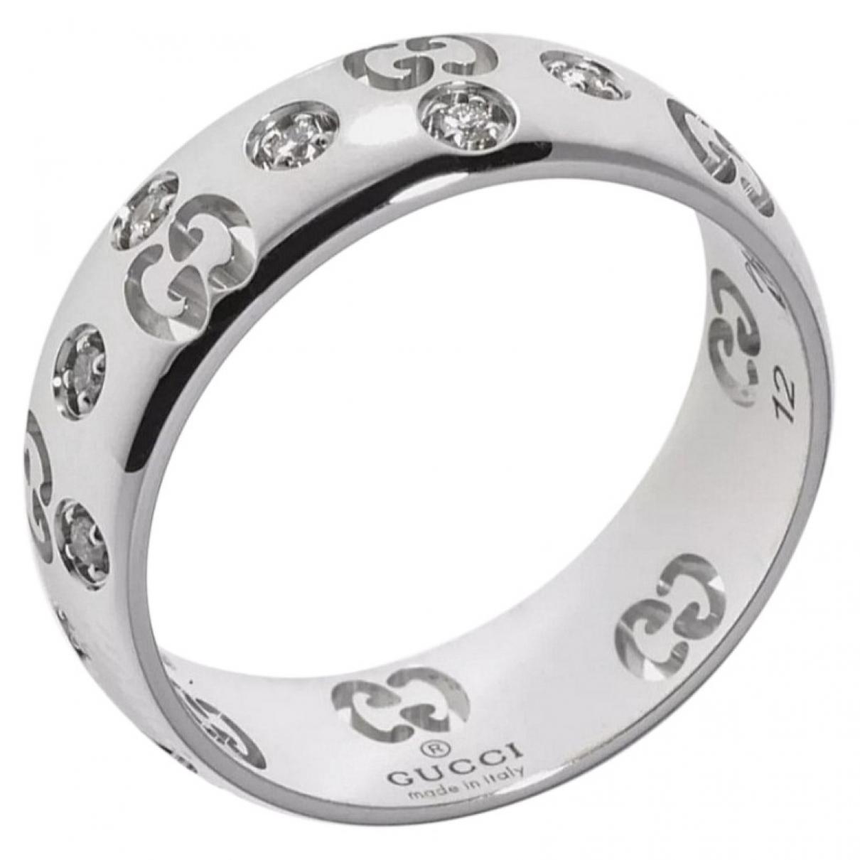 Gucci \N White White gold ring for Women K UK