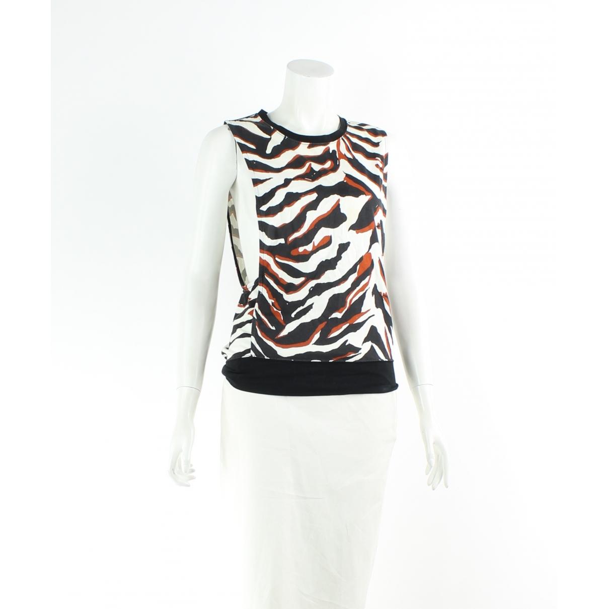 Balenciaga - Jupe   pour femme en coton - blanc