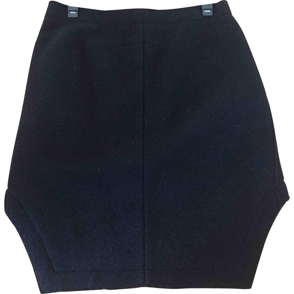 Carven \N Black Wool skirt for Women 40 FR