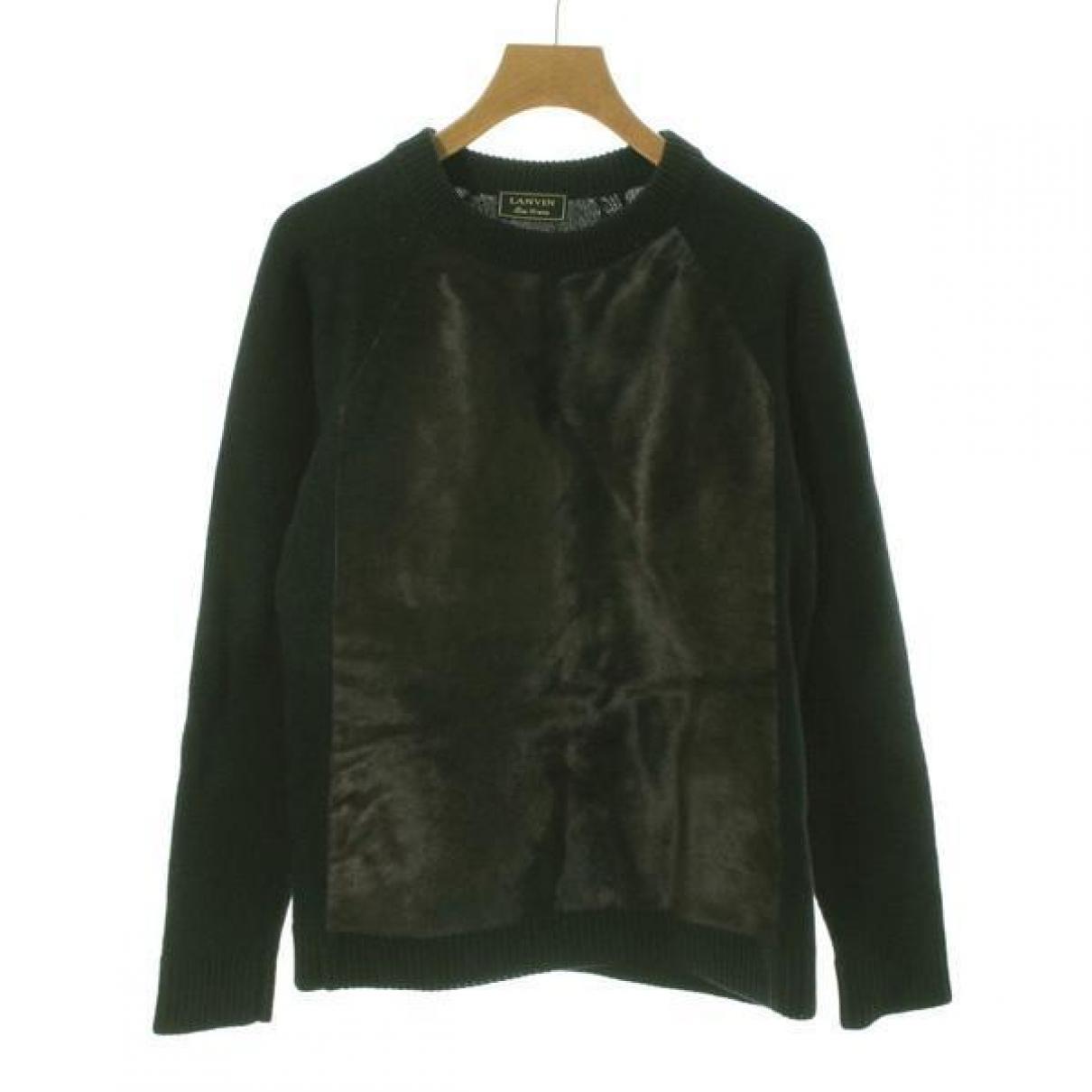 Lanvin \N Black Wool Knitwear for Women 34 FR