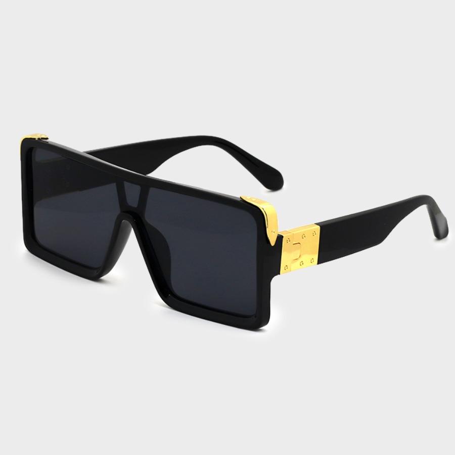LW lovely Stylish Big Frame Design Black Sunglasses