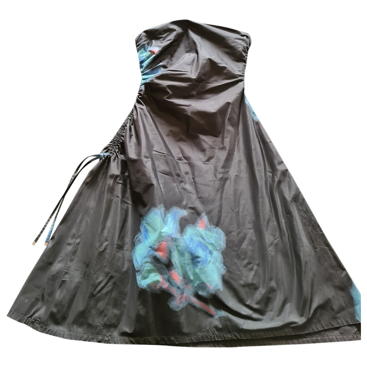 Louis Vuitton \N Black Silk dress for Women 40 FR
