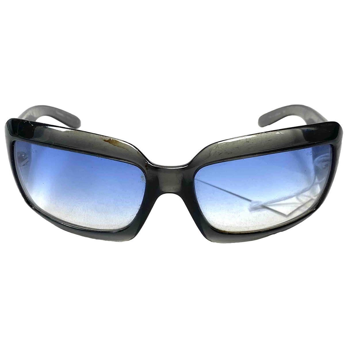 Chanel N Black Metal Sunglasses for Women N