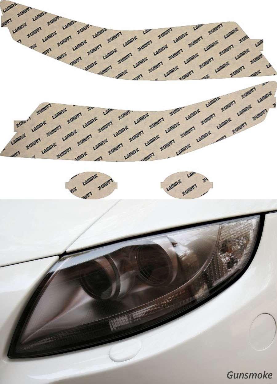 Acura TSX 04-08 Gunsmoke Headlight Covers Lamin-X AC002G