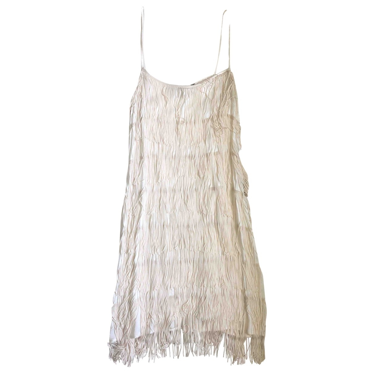 French Connection - Robe   pour femme - blanc