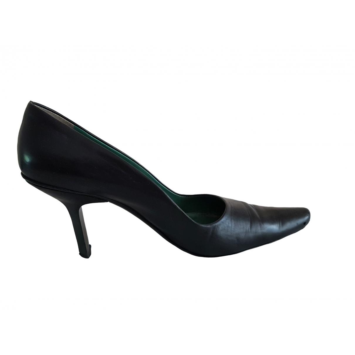 Gino Rossi - Escarpins   pour femme en cuir - noir