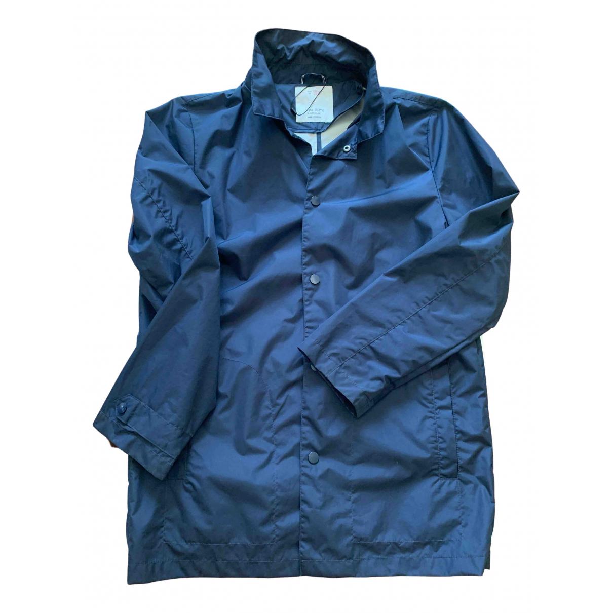 Zara \N Jacke, Maentel in  Blau Polyester