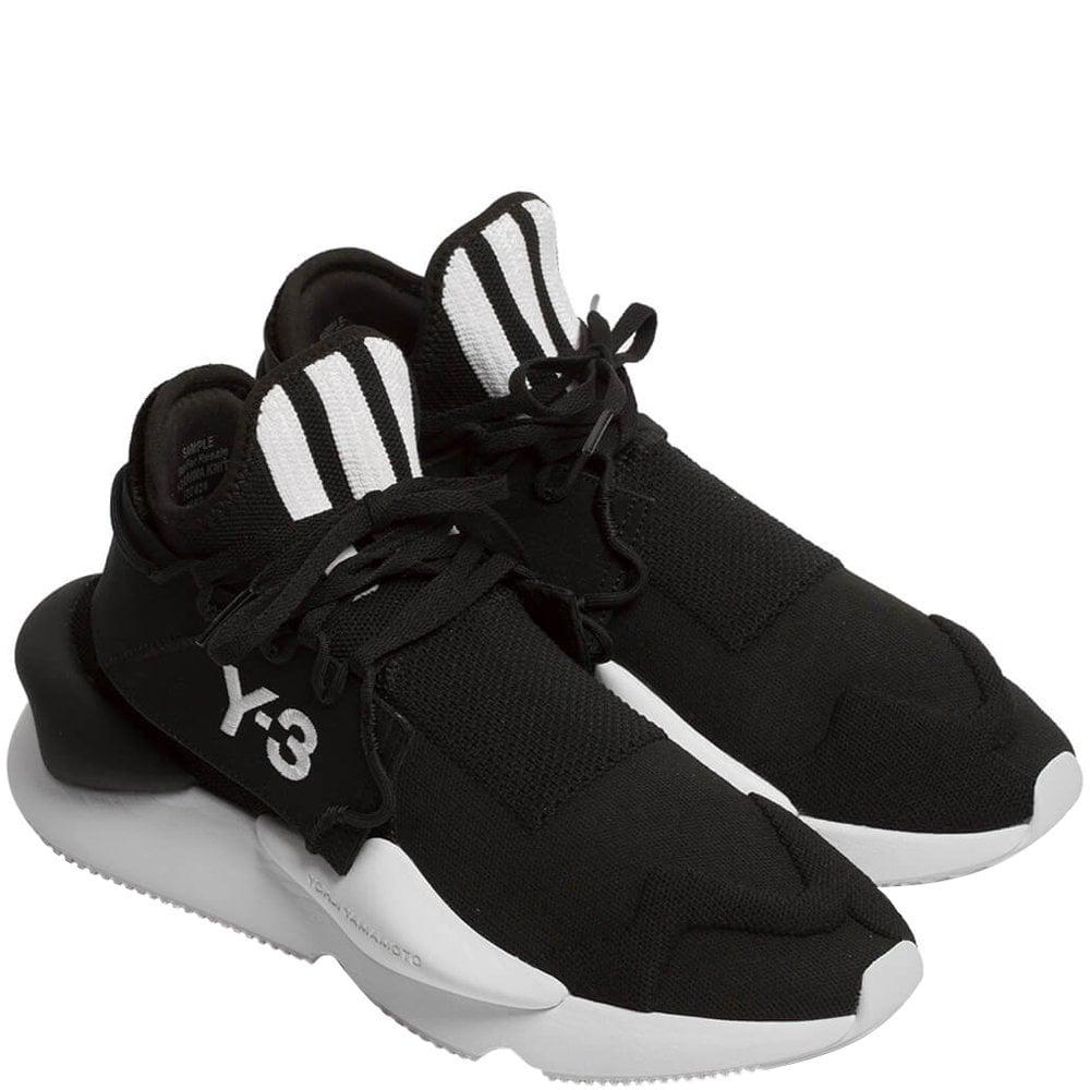 Y-3 Kaiwa Knit Trainers Black Colour: BLACK, Size: 6.5