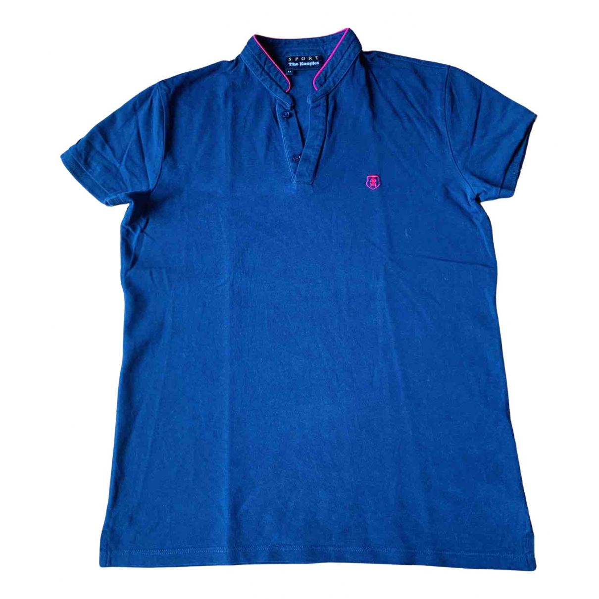 The Kooples \N Poloshirts in  Blau Baumwolle