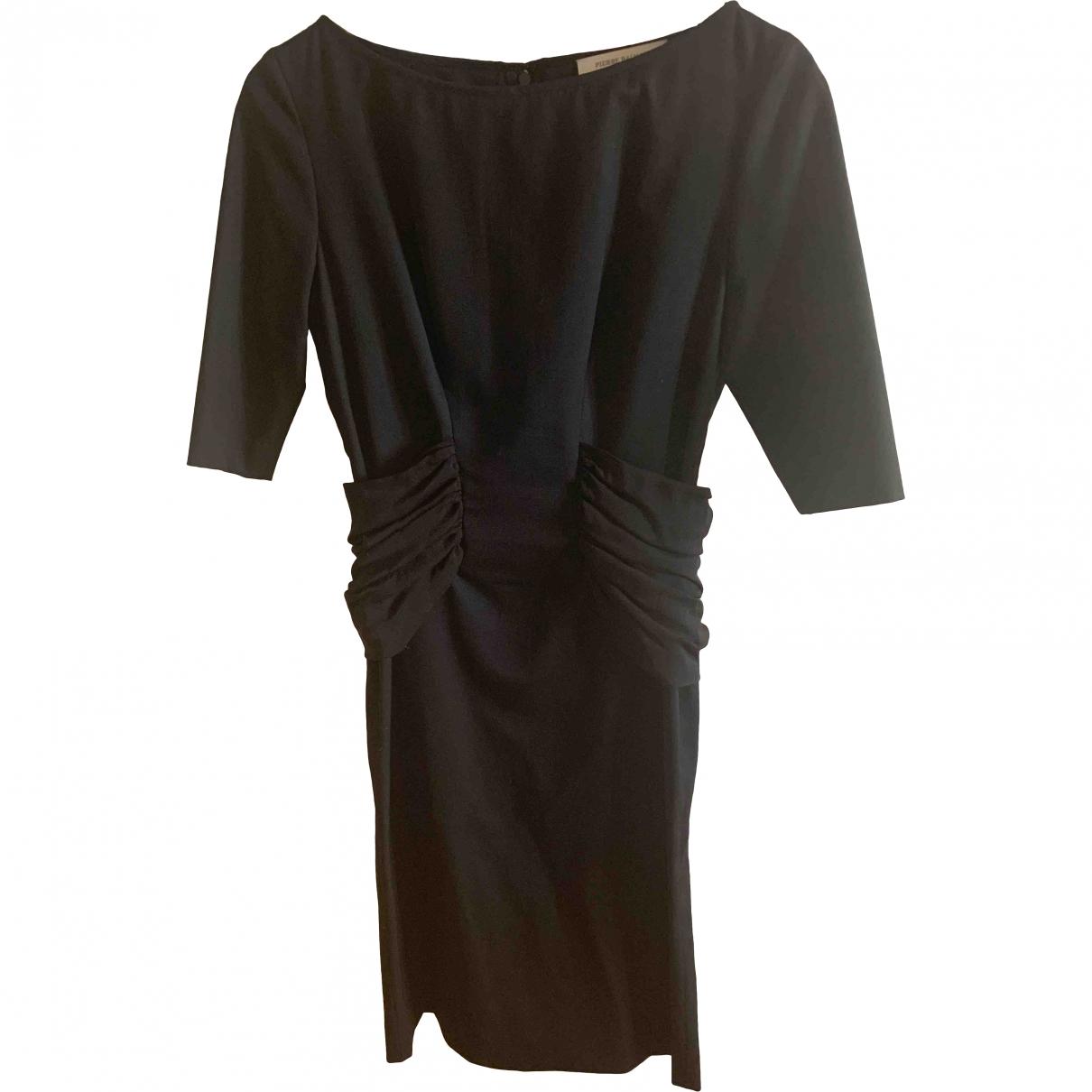 Pierre Balmain \N Black Wool dress for Women 40 IT