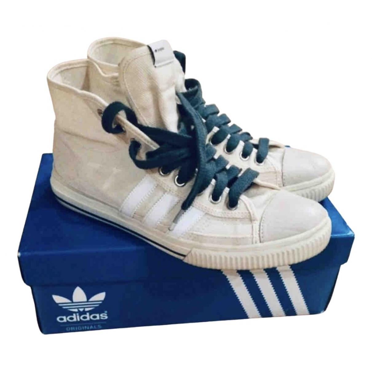 Adidas \N Sneakers in  Beige Leinen