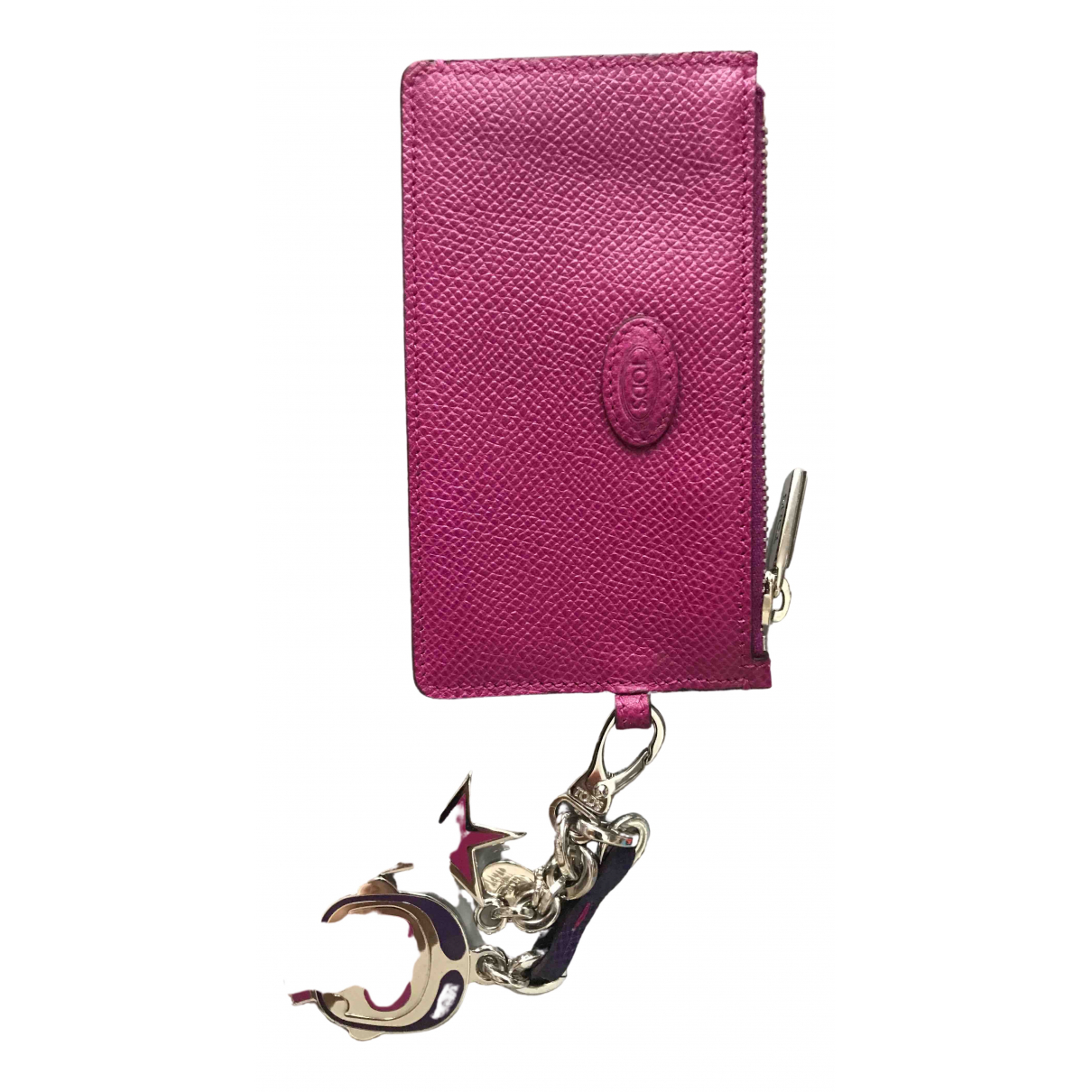 Tod's \N Purple Leather Purses, wallet & cases for Women \N