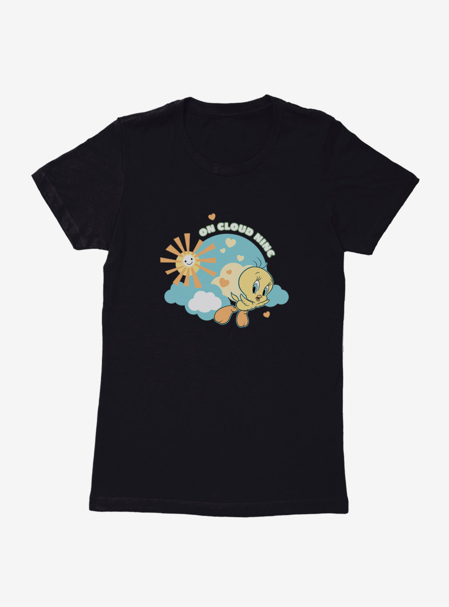 Looney Tunes Tweety Bird Cloud Nine Womens T-Shirt