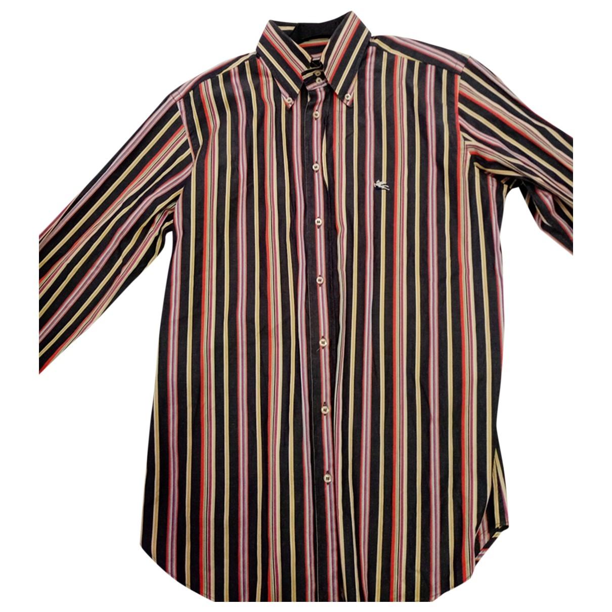 Etro \N Multicolour Cotton Shirts for Men L International