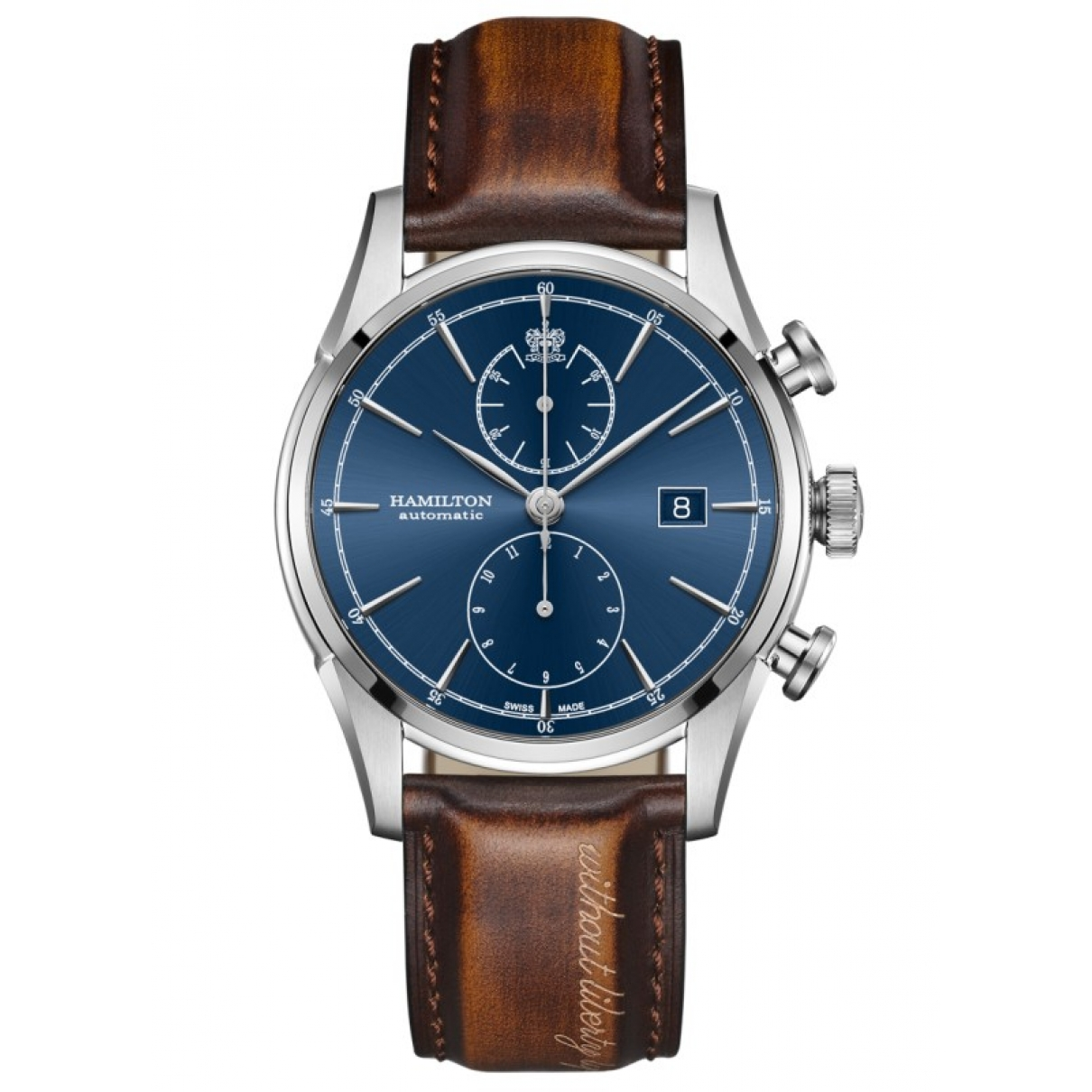 Hamilton American Classic Spirit of Liberty Khaki Steel watch for Men \N