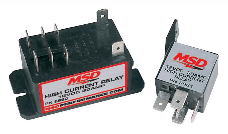 MSD High Current Relay; DPST