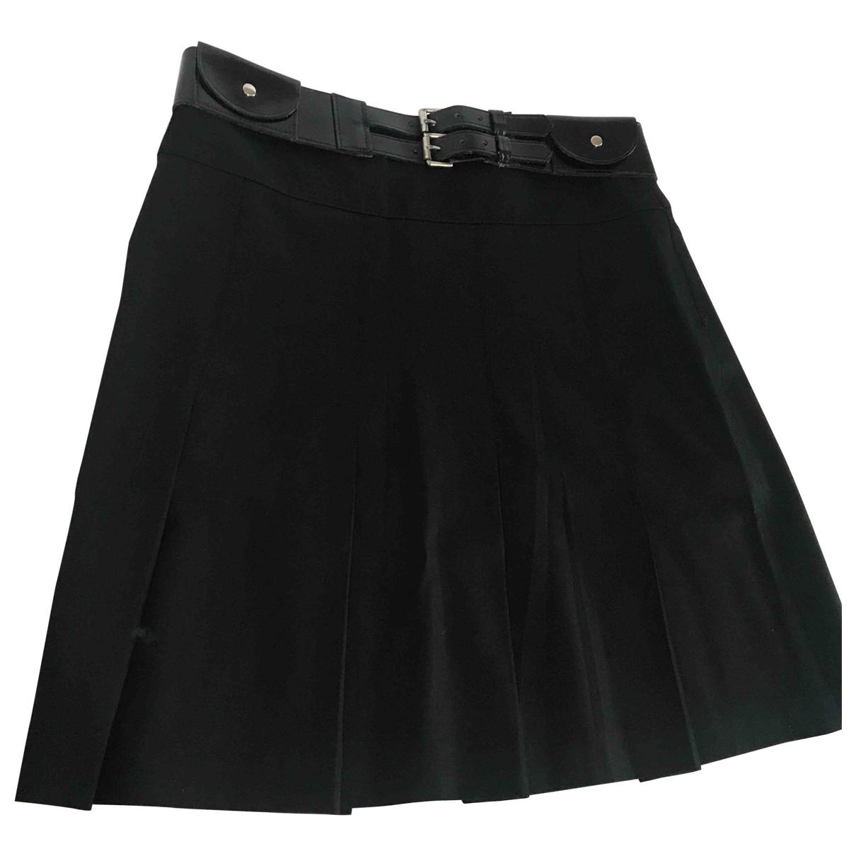 Burberry \N Black Wool skirt for Women 6 UK