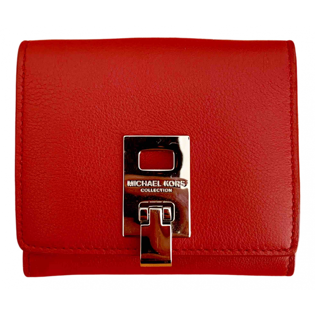 Michael Kors \N Red Leather Purses, wallet & cases for Women \N