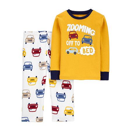 Carter's Baby Boys 2-pc. Pajama Set, 12 Months , Yellow