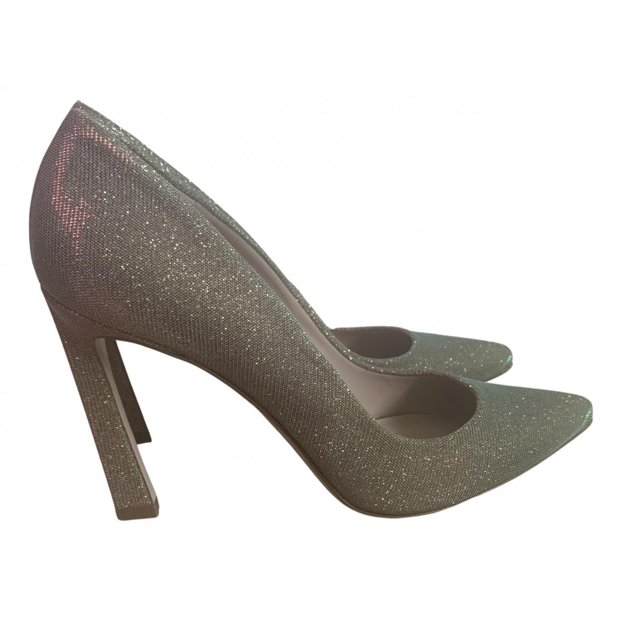 Stuart Weitzman \N Metallic Glitter Heels for Women 39.5 EU