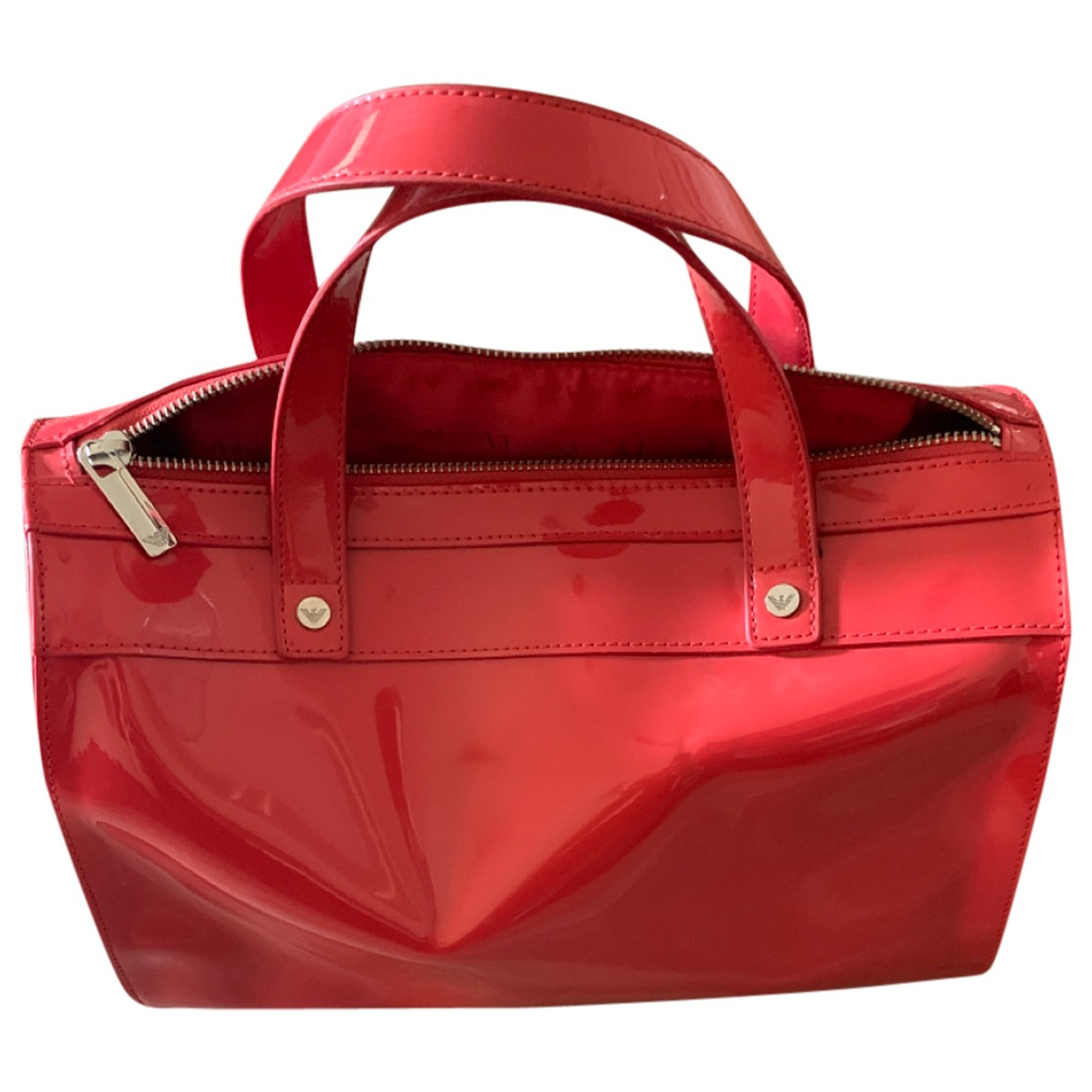 Armani Jeans \N Handtasche in  Rot Polyester
