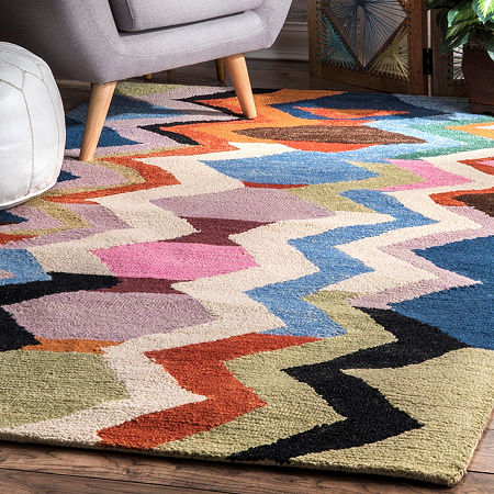 nuLoom Hand Tufted Aguirre Rug, One Size , Multiple Colors