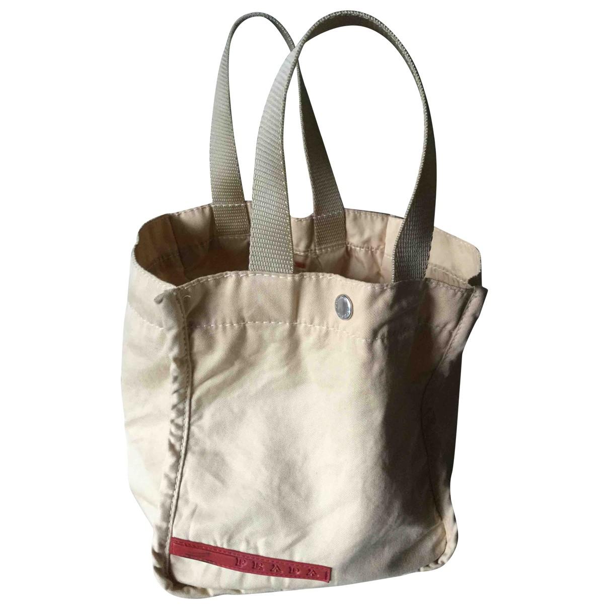 Prada N Beige handbag for Women N